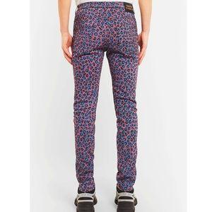 GUCCI Leopard Print Skinny Jeans NWT